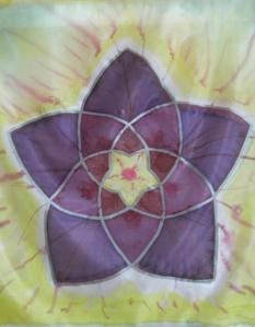 gelb-violett